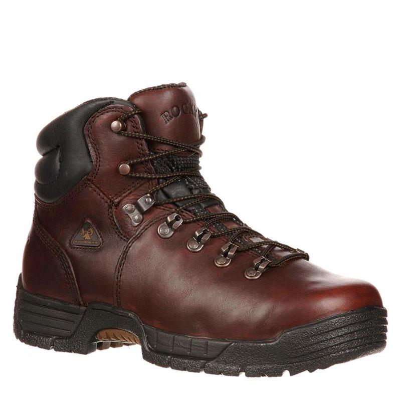 0474245157e Rocky 6114 MOBILITE Wide Steel Toe Work Boots