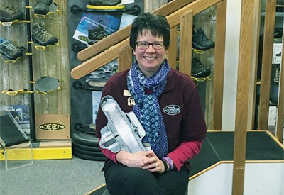 Learn how a Certified Pedorthist, like Gretchen Lima, can help you find healthy footwear for your feet and foot ailments..