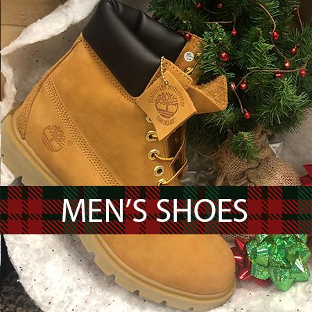 Shop the best men's shoe brands  at Family Footwear Center