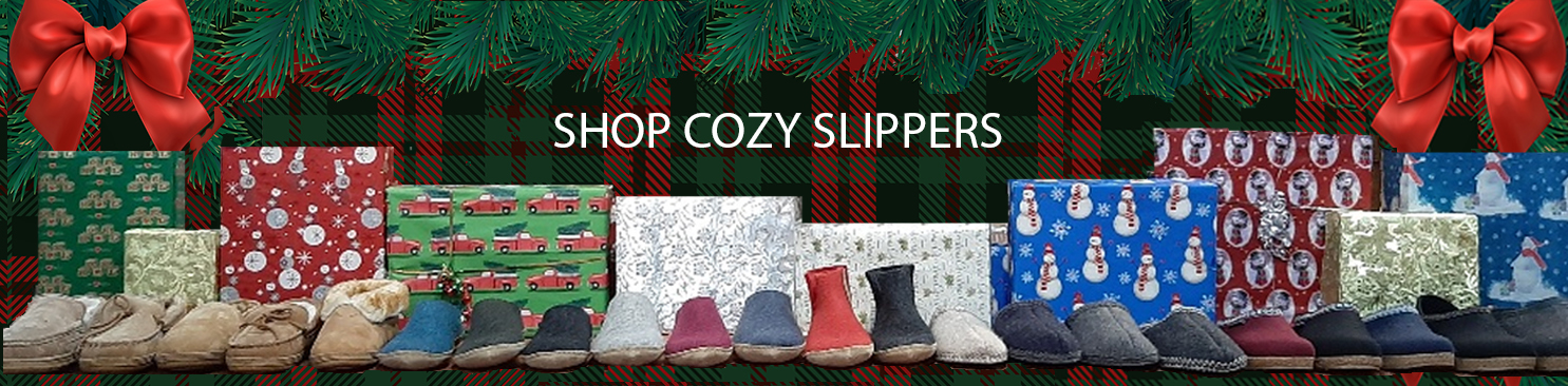 Shop our warm and cozy winter slippers at Family Footwear Center