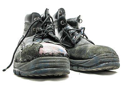 Why do Leather Toes wear out on Steel Toe Boots and what you can do to prevent it.