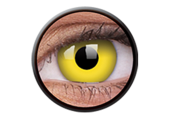 ColourVue Crazy Lenses Yellow