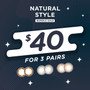 Natural Style Bundle Deal