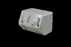 Weatherproof Double GPO IP53 250V 10 Amp