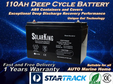 SolarKing 110AH 12V Deep Cycle Battery