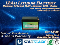 12V 12AH Solarking  Lithium Battery LB-12-12-10  2000+Cycles Lightweight