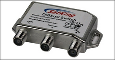Star 2 way DiSEgC switch