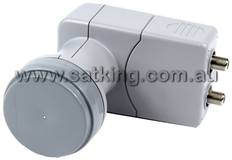 Dual Output 10700 Wide Band LNB
