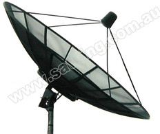 SatKing 2.3M C-Band Dish Super Heavy Duty