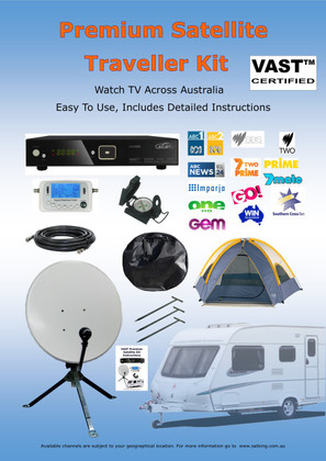 VAST Satellite Premium Traveler Kit