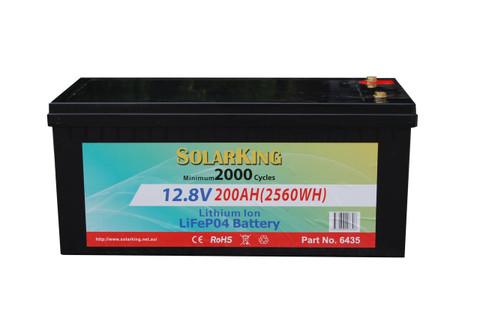 200AH Lithium LiFe PO4 SolarKing Battery - LB-200-12-80