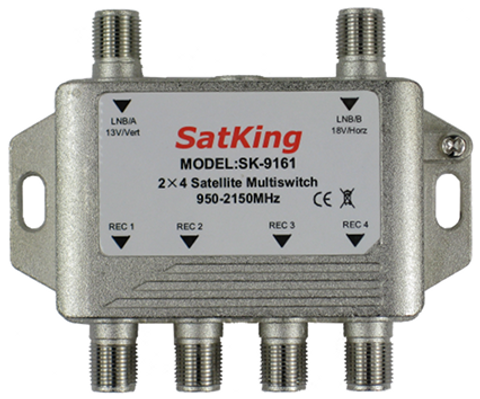2 in 4 out Multiswitch