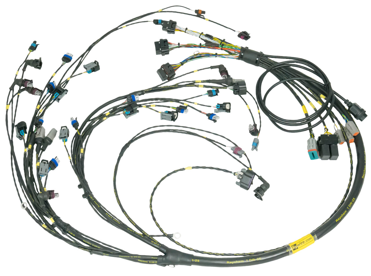 lsx premium engine wiring harness ace performance rh aceperformancesystems com engine wiring harness 1994 chevy truck engine wiring harness repair
