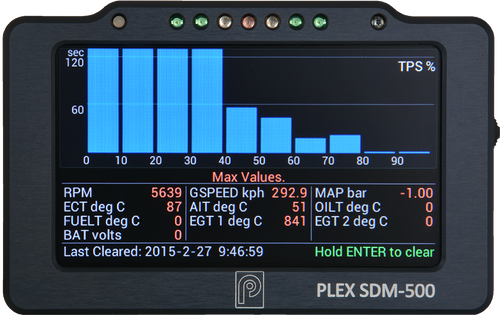 PLEX SDM-500 (GPS - Optional)