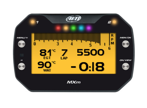AiM MXm Compact Dash & Data Logger