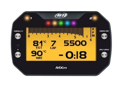 AiM MXm Compact Dash & Data Logger