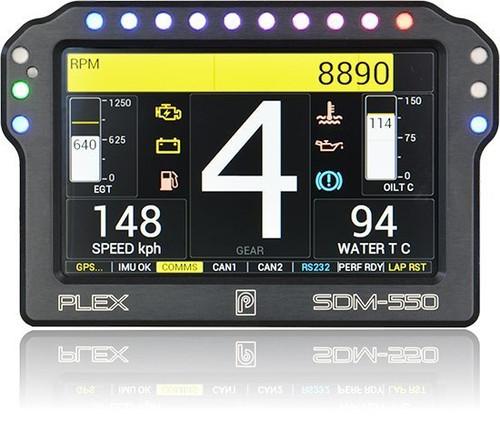 Plex SDM-550 Dash Display & Logger