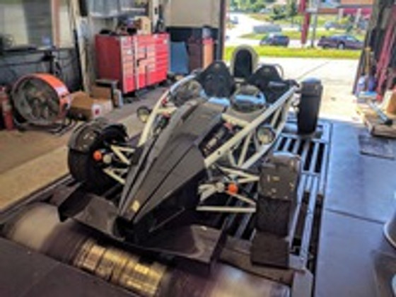 Ariel Atom 2 Supercharged - Stand alone engine management  integration