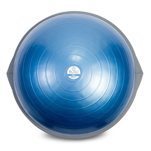 bosu pro balance trainer 65cm blue dome with grey dome