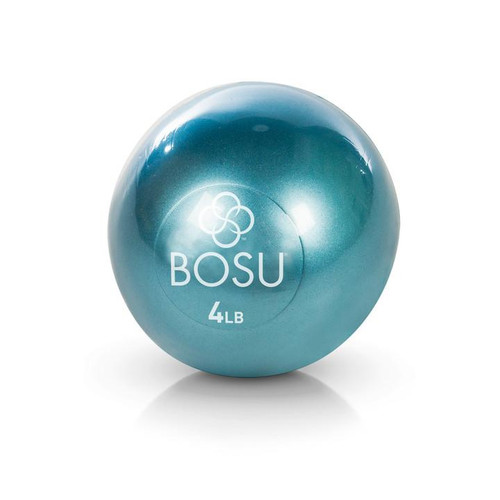 bosu soft grip weighted ball 2 kilos colour blue