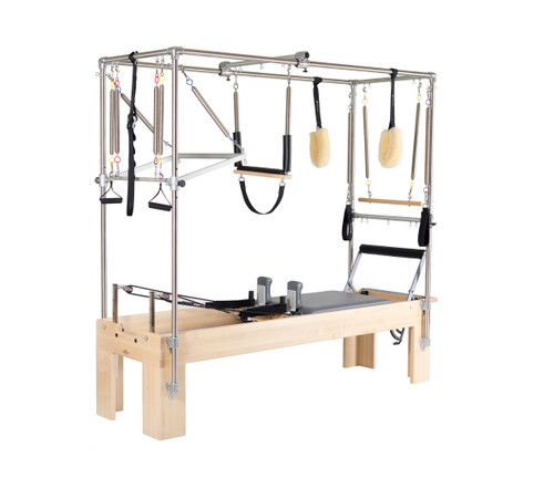 reformer trapeze combination by balanced body, all the features you need in one design
