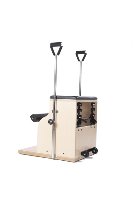 combo chair by balanced body for functional training pilates studio