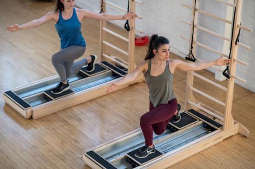 pilates studio group training using coreAlign