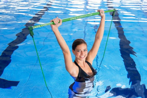 water functional training with gymstick aqua