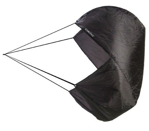 speed resistance parachute for strength and resistance training