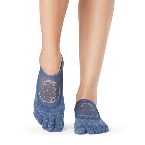 luna crescent toesox design with non-slip grip with 5 finger design