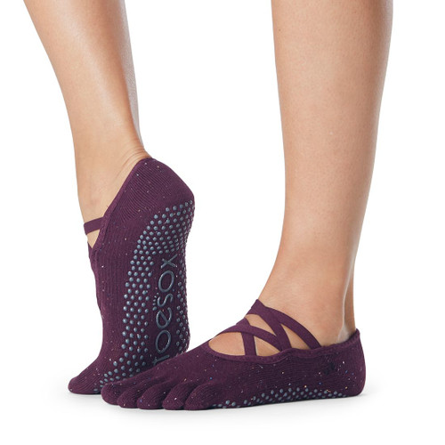 elle marvel design toesox for pilates and yoga training