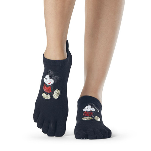 socks with disney design for yoga & pilates with non slip grip