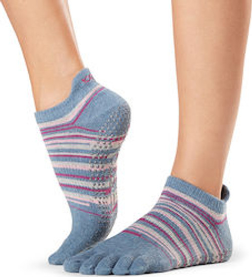 low rise gypsy design socks for pilates & yoga