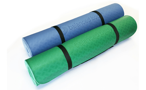 eco wise flat mat for yoga and pilates practise