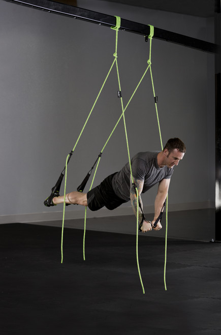 man training with bodhi suspension system