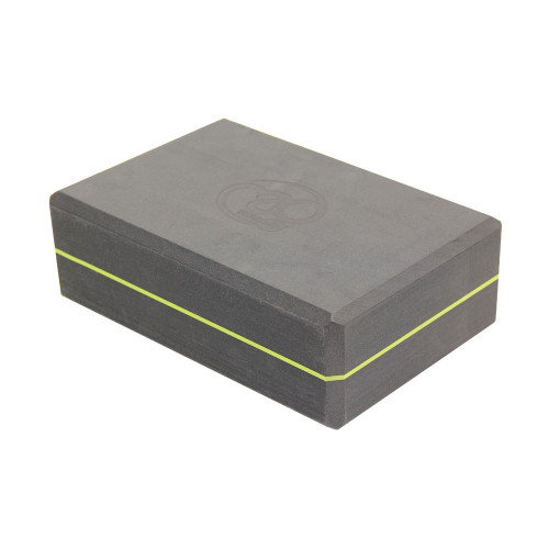 grey yoga block by mad yoga