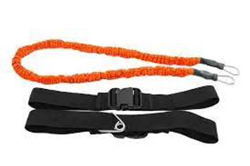 resistance band which is is connected between two people for workout and strengthening purposes