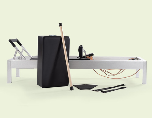 contrology reformer equipment for practising classic pilates