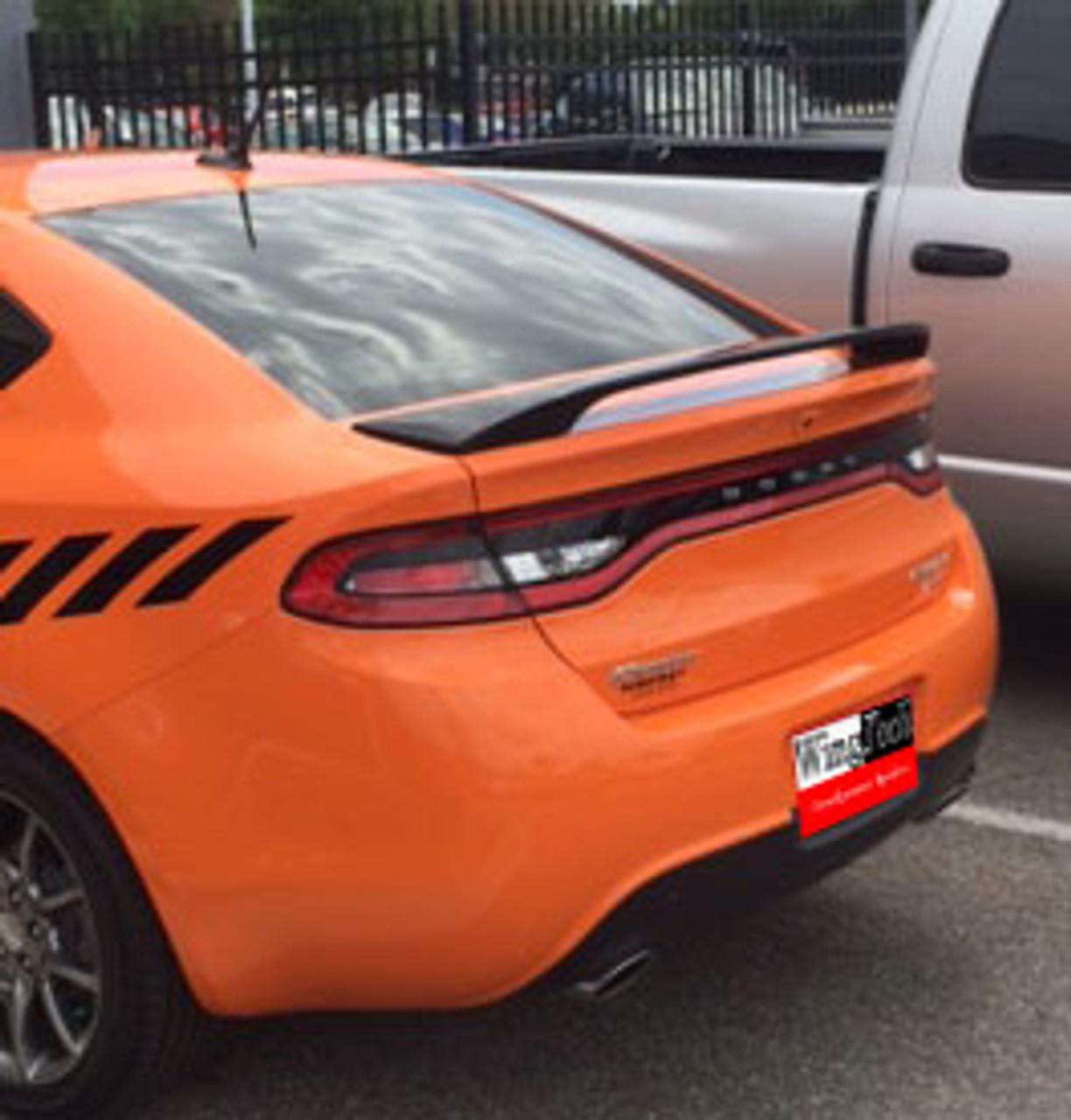 Painted Custom Spoiler Fits The 2013 2014 2015 2016 Dodge Dart Motors Auto Parts Accessories