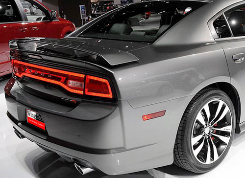 2011-2014 Dodge Charger Spoiler SRT Factory Style