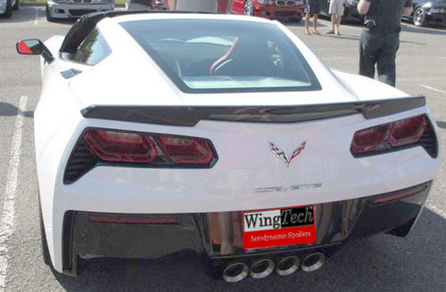 2014-2018 Chevrolet Corvette Spoiler Factory Lip Style