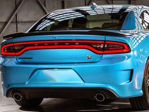 "2011-2014 Dodge Charger ""Hellcat"" Spoiler Custom Style"
