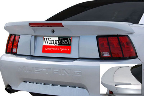 1999-2004 MUSTANG SPOILER W/LIGHT SALEEN-STYLE (long pedestal)