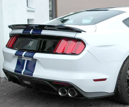 2015-2018 MUSTANG TRACK PACKAGE NO-LIGHT FACTORY-STYLE SPOILER (not convertible)