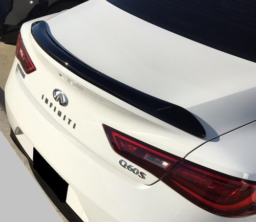 2017+ Q60 COUPE NO-LIGHT CUSTOM NO-DRILL SPOILER