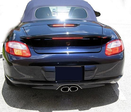 2005-2011 BOXSTER/BOXSTER-S 2-POST W/LIGHT CUSTOM SPOILER