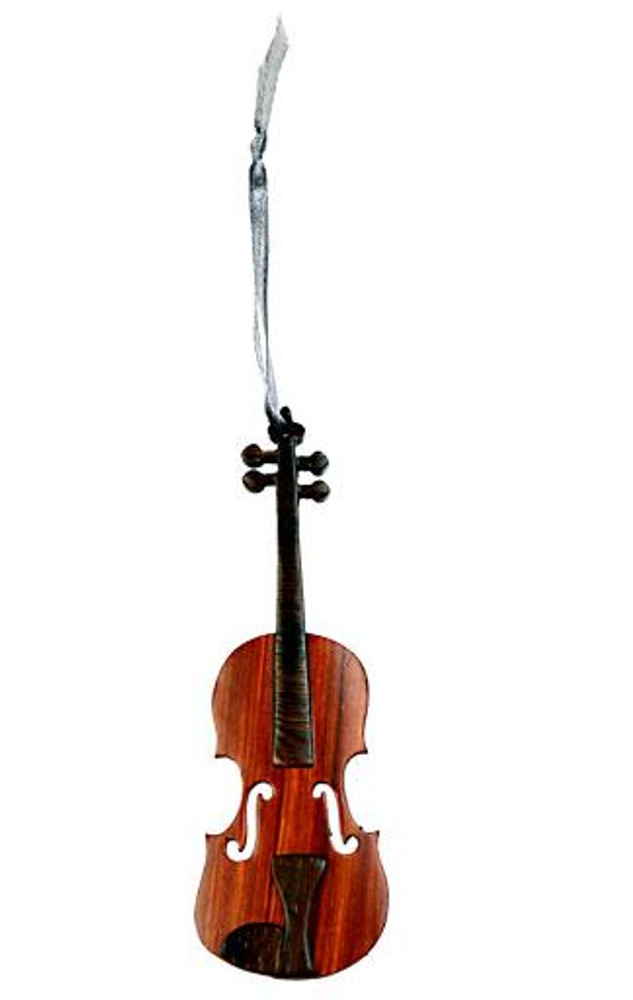 Ornament Wooden Violin