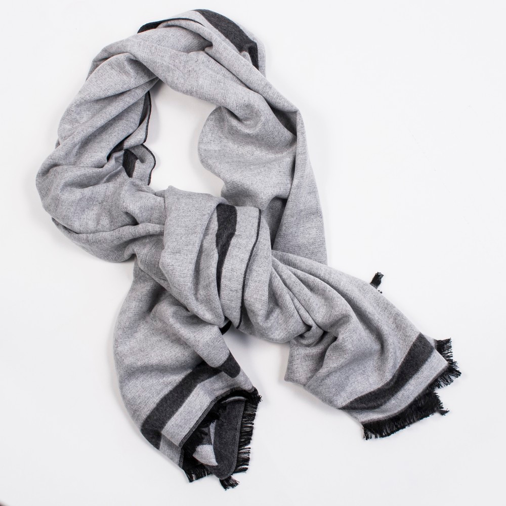 MADRID WRAP REVERSIBLE GRAY/LIGHT GRAY