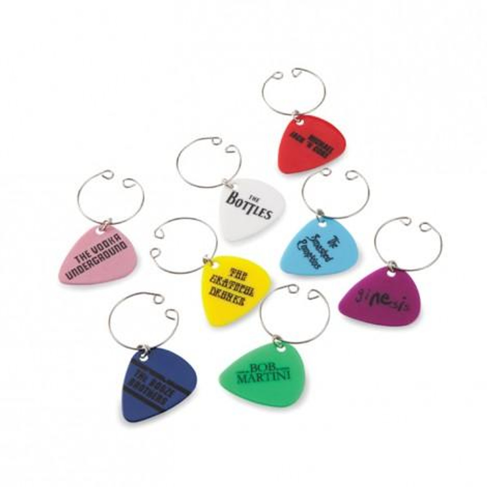 WINE CHARMS GUITAR PICKS