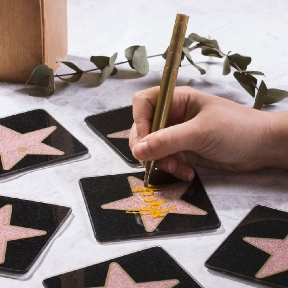 HOLLYWOOD STARS PLACE SETTING